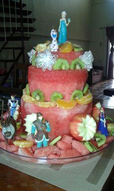 Frozen watermeloncake