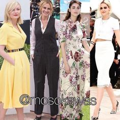 Mosokawas - Fashion Reviews Four Ladies Mosokawas Look: Best Dressed Cannes 2016! Photos: 1- Kirsten Dunst wearing @dior; 2- Julia Roberts wearing @givenchyofficial; 3- @mirimeo wearing @gucci; 4- Kristen Stewart wearing @chanelofficial #mosokawas #lookdodia #lookoftheday #moda #estilo #style #insta #fashion #pinterest #ootd #outfit #outfitoftheday #instafashion #cannes2016 #cannes #redcarpet #kirstendunst #dior #juliaroberts #givenchy #gucci #kristenstewart #chanel #miriamleone
