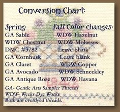 Essential Embroidery Color Conversion Charts Quilting Pinterest - Minecraft hauser jannis gerzen