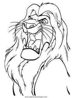 Die 76 Besten Bilder Von König Der Löwen Coloring Pages Colouring