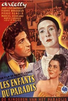 Children of Paradise (1945).  A love triangle set in the theaters of 19th century Paris.