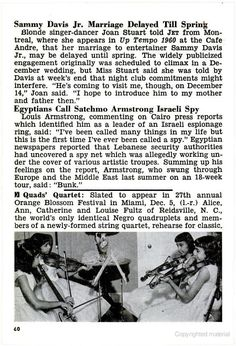 The Fultz Quads form a String Quartet in preparation for the Orange Blossom Festival in Miami, FL. This article was in the November 26, 1959 issue of Jet Magazine.