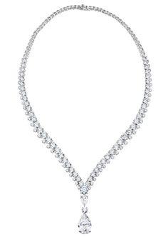 De Beers Phenomena Reef diamond necklace.