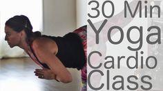 Yoga Cardio HIIT with Lesley Fightmaster