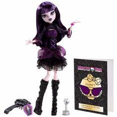 Monster High Monstros Câmera Ação Elissabat Mattel - R$ 109,99 no MercadoLivre