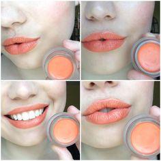 """Wearing RMS Beauty Lip2Cheek in """"Curious"""" #rmsbeauty #lips #lip2cheek #organicmakeup"""