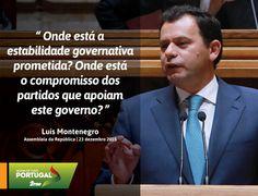 Luís Montenegro, Líder Parlamentar do PSD, hoje, na Assembleia da República. #PSD #acimadetudoportugal
