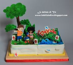 Le Delizie di Ve: Zack and Quack cake