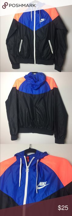 Nike Windbreaker Jacket Great condition, no flaws. Size runs a little fitted/smaller. Price is negotiable. Nike Jackets & Coats