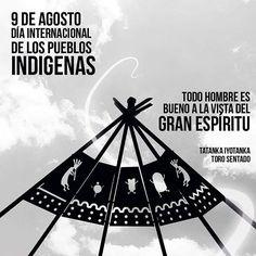 """9 de Agosto Día Internacional de los pueblos Indígenas """" Todo hombre es bueno a la vista del gran espíritu."""" - Toro Sentado-  #LaMagiaSeTomaSantaMarta #WeAreKa #Kaestudios #samarios #santaMarta"""