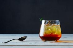 Tea Thyme Soda recipe: A bubbly, herbaceous iced tea (or cocktail) with Northwest roots.  #food52