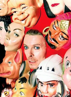 David Bowie, photographed by David LaChappelle