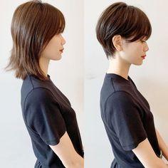 Pin on skincare Pin on skincare Korean Short Hair, Short Wavy Hair, Girl Short Hair, Tomboy Hairstyles, Cool Hairstyles, Androgynous Haircut, Girls Short Haircuts, Shot Hair Styles, Asian Hair