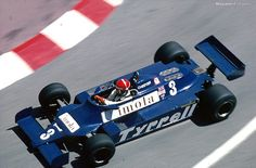 Eddie Cheever Tyrell-Ford Monaco 1981. Qual: 15th. Fin: 6th. (+2 laps) 20 Started - 7 finished.