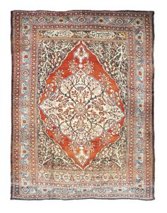 A SILK TABRIZ RUG | NORTH WEST PERSIA, CIRCA 1890 5ft.8in. x 4ft.4in. (173cm. x 132cm.) | Christie's