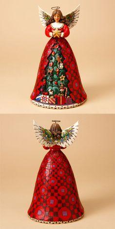 Jim Shore Christmas Angel Ornament