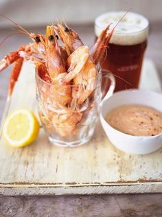 Pint of Prawns | Seafood Recipes | Jamie Oliver Recipes
