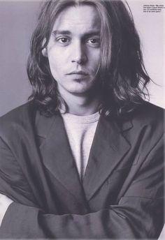 Johnny Depp by Mary Ellen Mark, 1993