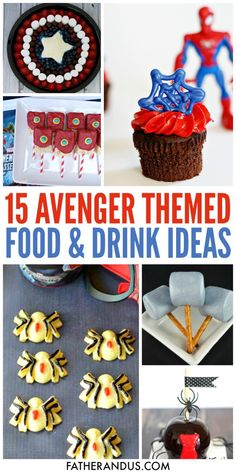The avengers party food ideas