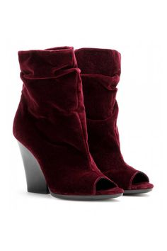 Burberry Prorsum Bateman Ankle Boots, $750; mytheresa.com Courtesy of the retailers  - ELLE.com