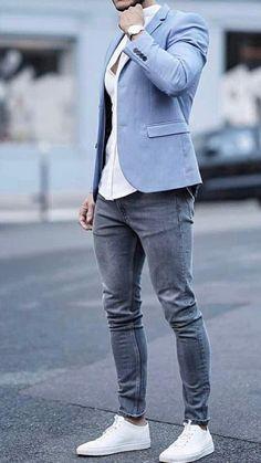 mensstyle mensfashion menswear mensoutfits menssuits mensshirts fashion cool is part of Mens casual outfits - Blazer Outfits Men, Mens Fashion Blazer, Stylish Mens Outfits, Suit Fashion, Men Blazer, Casual Blazer, Mens Casual Suits, Blazer Jacket, Fashion Shirts