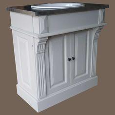 Colonne pour lavabo retro blanc leroy merlin 39e la - Etagere murale salle de bain leroy merlin ...