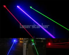 Laserstrahl Rot Grün Blau