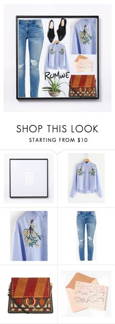 """Romwe"" by elza-345 ❤ liked on Polyvore featuring West Elm, Ted Baker and Chloé"