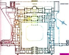 Buckingham Palace Floor Plan Pdf - Our Houzz Buckingham Palace Floor Plan, Buckingham Palace London, The Plan, How To Plan, Historical Architecture, Architecture Plan, Classical Architecture, Buckingham Palace, Versailles
