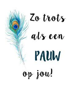ZO TROTS ALS EEN PAUW OP JOU ✨ #handmade #postcard #zelfgemaakt #kaartjes #instagram #sabinecreates #proud #trots