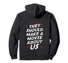 Class Of 2019 They Should Make Movie Hoodie for Him and Her Making A Movie, Class Of 2019, Student Gifts, Hoodies, Sweatshirts, Boys, Girls, Boy Or Girl, Fashion Brands