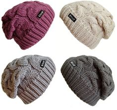 Beanie in black/grey/cream/maroon/deep green/anything pretty/ etc. Or yarn (Caron Super soft) to make one
