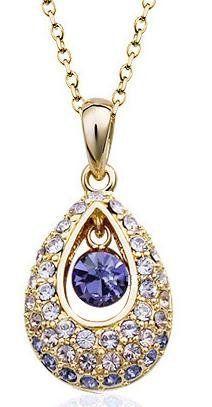 6a8c0c8868c  19.99 Swarovski Crystal Princess Teardrop Pendant Necklace 19