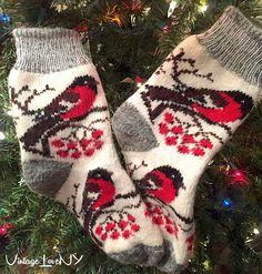 Your place to buy and sell all things handmade Wool Socks, Knitting Socks, Hand Knitting, Unique Socks, Bullfinch, Winter Socks, Striped Socks, Designer Socks, Handmade