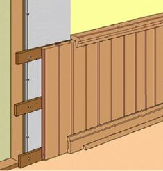 Wainscoting for Interior Walls is part of Wood panel walls The Web's Most Helpful Home Improvement Site - Wainscoting Wall, Bathroom Paneling, Wall Panelling, Paneled Walls, Wood Panel Bathroom, Wood Panneling, Bathroom Cladding, Wood Trim, Tongue And Groove Panelling