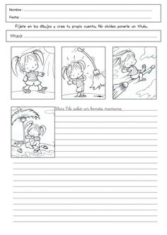 secuencia Spanish Classroom Activities, Spanish Teaching Resources, Reading Activities, Speech Language Therapy, Speech And Language, Sequencing Pictures, Spanish Lessons For Kids, 1st Grade Writing, Writing Strategies