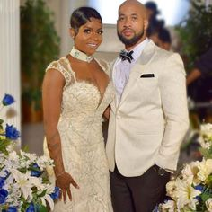 Fantasia and her husband renew their vows on Christmas 💛