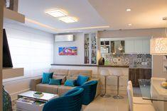 Apartamento Bento : Salas de estar modernas por Camila Chalon Arquitetura