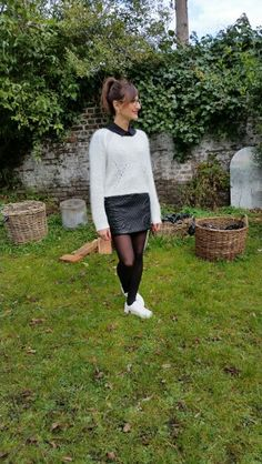 #skirt #leather #stansmith