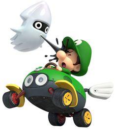 Baby Luigi | Mario Kart 8