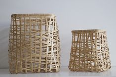 Sfera baskets via Mjolk. Both companies are specialising in a blend of japanese and nordic/western design