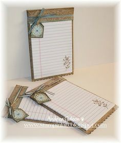 Altered Note Pads