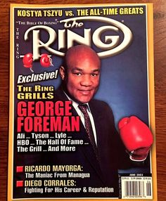 June 2003 - The Ring Boxing Magazine - GEORGE FOREMAN - CORRALES - MAYORGA