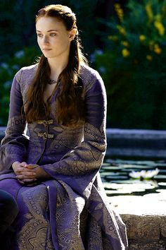 "Sophie Turner of ""Game of Thrones"""