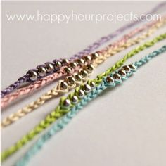 Keep your wishes close with the Make a Wish Anklet, an easy hemp bracelet pattern that's been lengthened out to form an adorable beaded anklet.