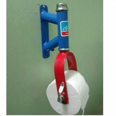 Bicycle parts toilet paper holder. The post Bicycle parts toilet paper holder. appeared first on Trendy.