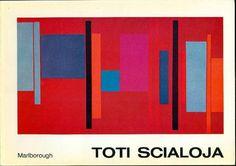 SCIALOJA Toti, Toti Scialoja. New Works. New York, Galleria Marlborough, 1973.