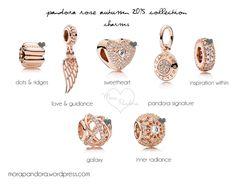pandora rose autumn fall 2015 charms <3