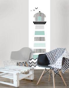 een complete decoratie set voor de kinderkamer of babykamer. het, Deco ideeën