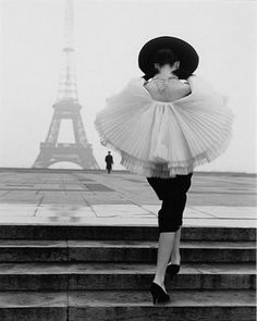 Paris is always a good idea. Photo by Walde Huth 1950's, Vogue archives. #SaksLife #BlackandWhite